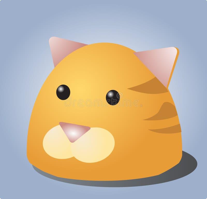 Cat cartoon royalty free stock photo