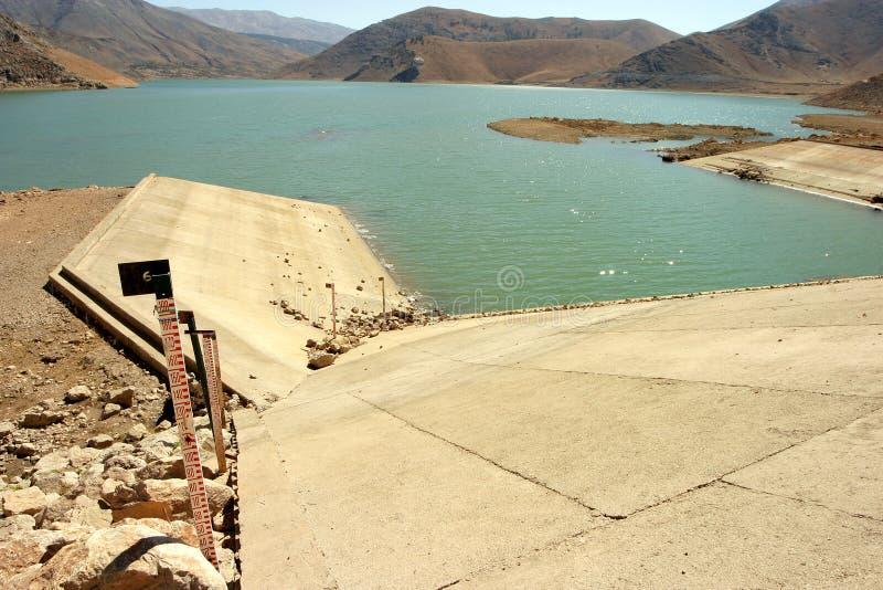 Cat Dam Lake-Bereich türkisch: Çat lizenzfreie stockfotos
