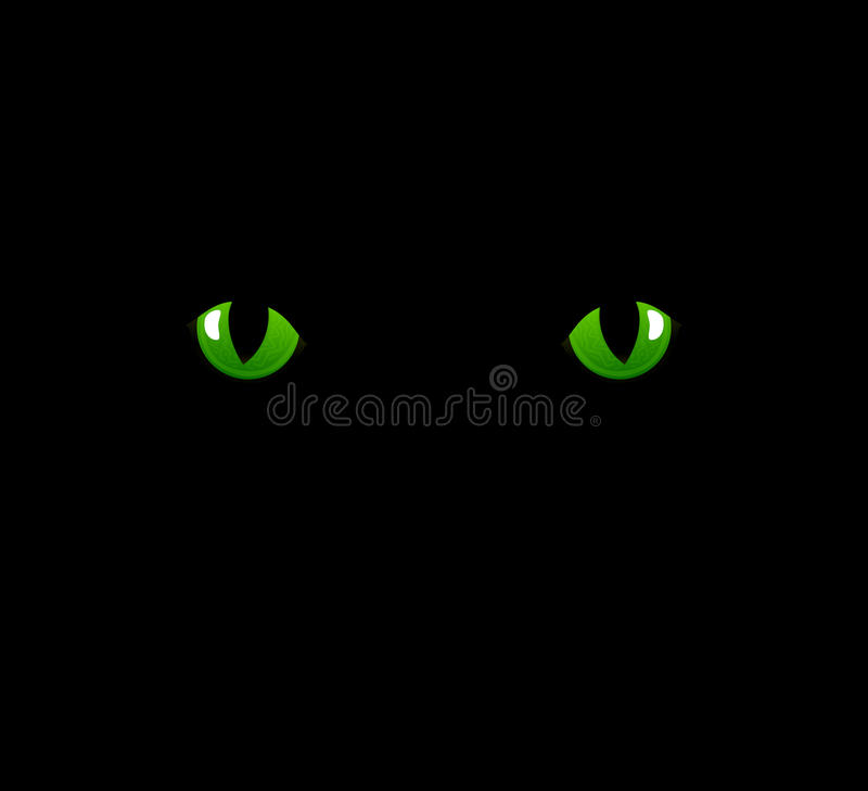 Download Cat eyes stock vector. Image of adoration, bizarre, fauna - 22285598