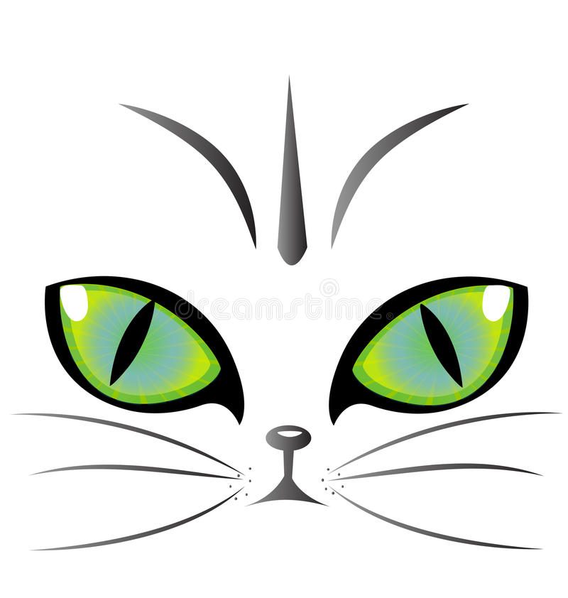 Download Cat eyes logo vector stock vector. Illustration of curiosity - 27917734