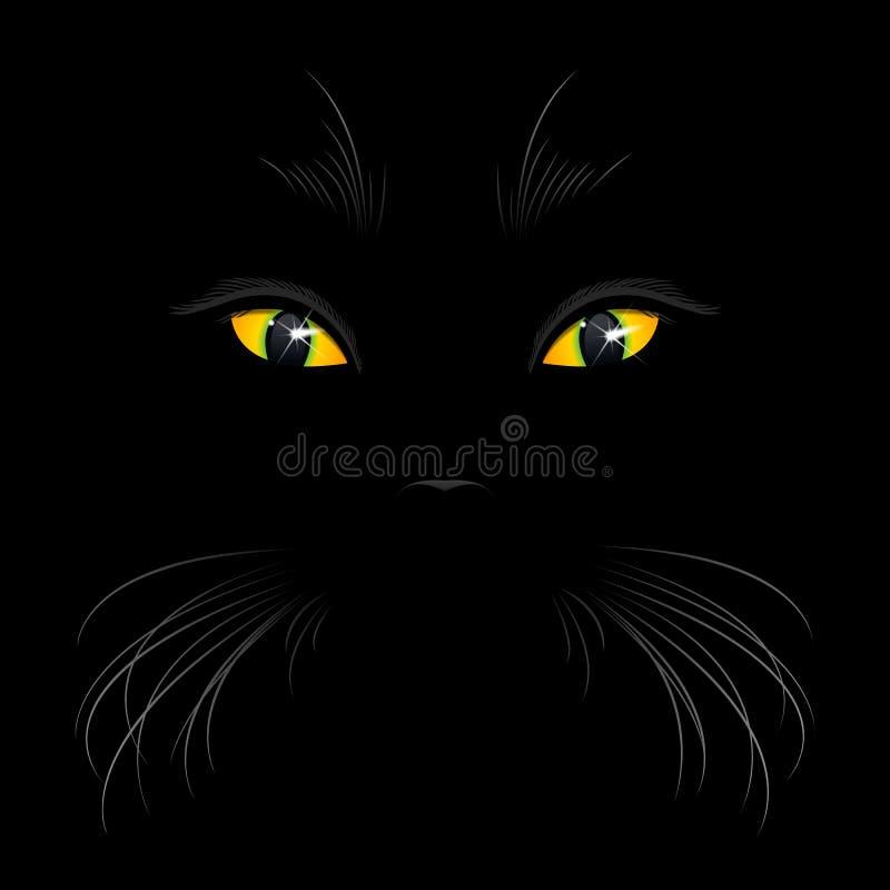 Download Cat Eyes ilustración del vector. Ilustración de noche - 41900026
