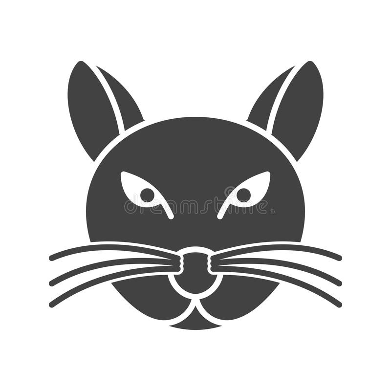 Cat Face illustration stock