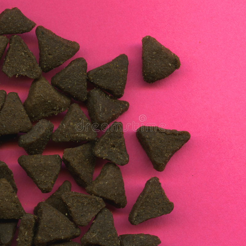 Download Cat Food On Pink Background Stock Photo - Image: 5807744