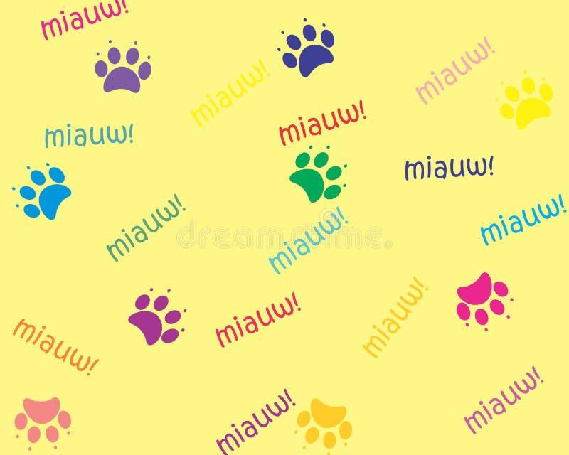 Cat Footprint royalty free stock image