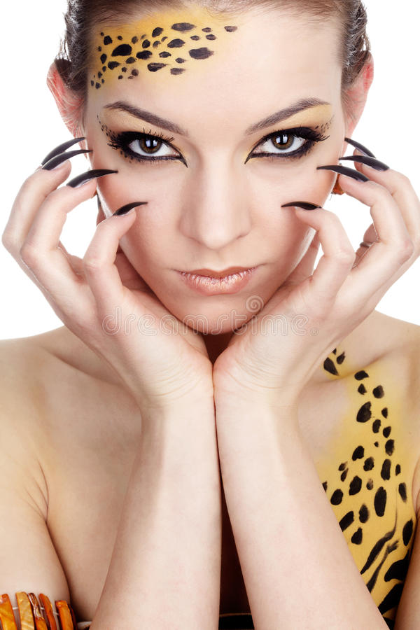 Download Cat Girl Royalty Free Stock Photo - Image: 11558605