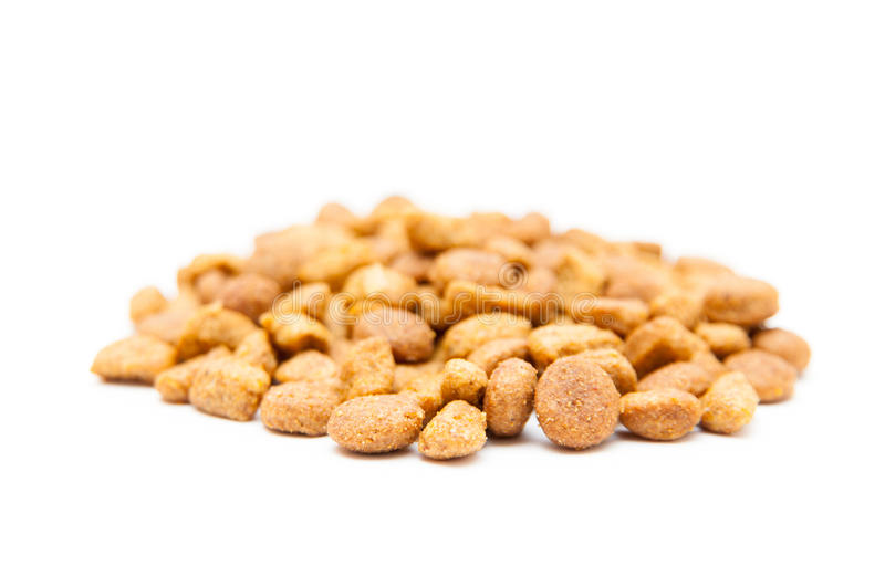 Cat grains stack royalty free stock images