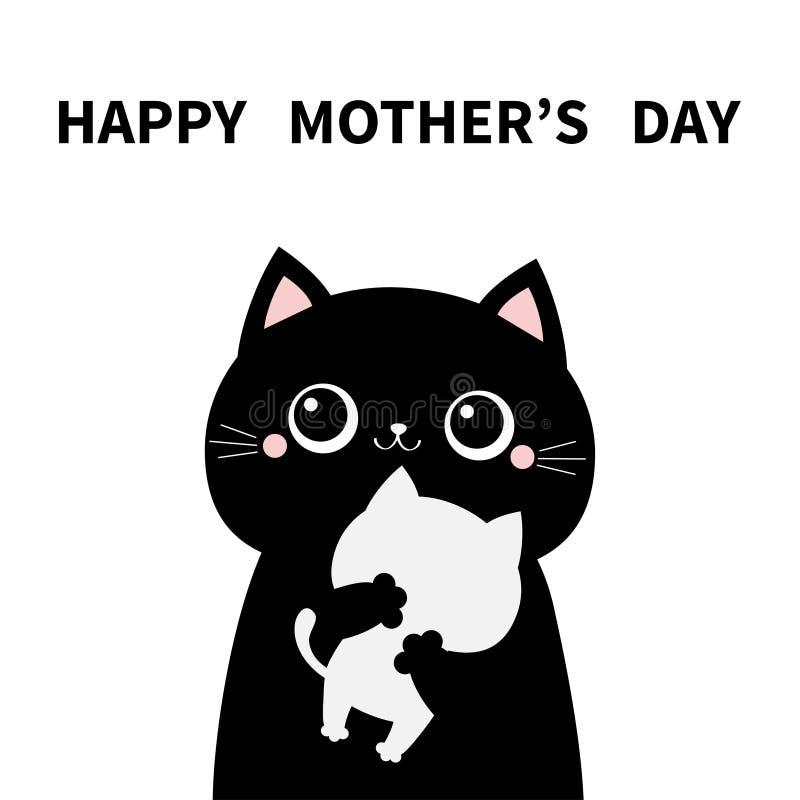 Free Cat Holding Hugging Little Baby Kitten. Happy Mothers Day. Kittens On Hands. Kitty Hug. Funny Kawaii Animal Family. Cute Cartoon Stock Photos - 170269313