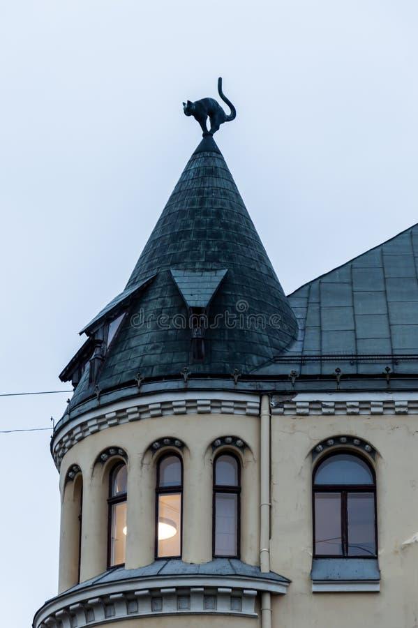 Cat House, Riva, Lettonie photos libres de droits