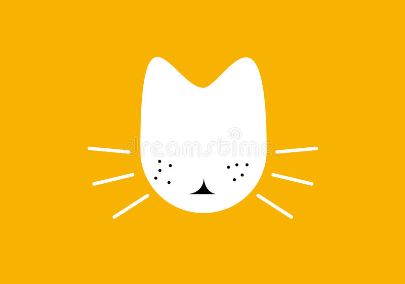 Cat / illustration stock photos