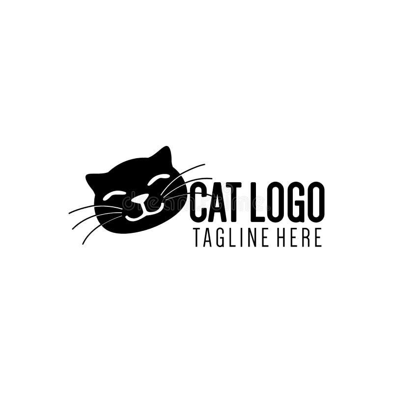 Cat Logo Collection simples e criativa ilustração do vetor