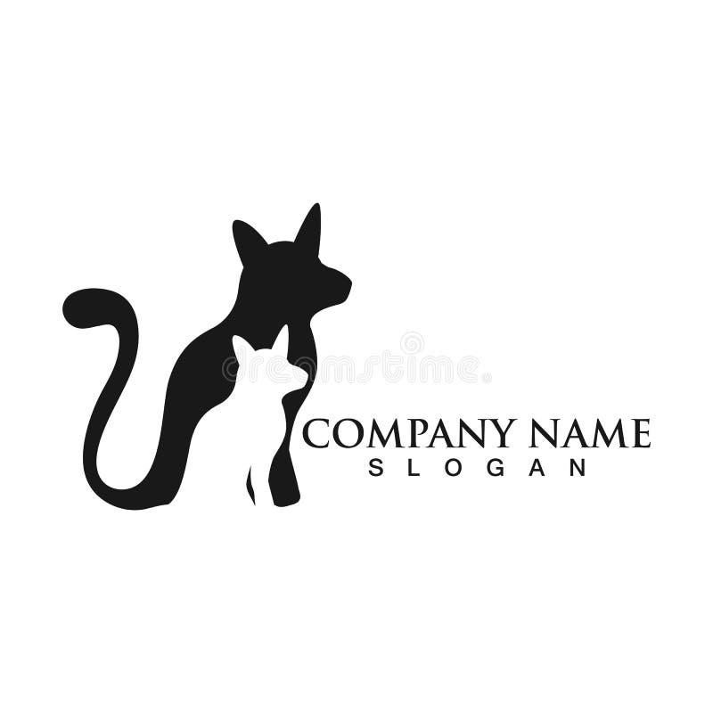 Cat logo design pet logotype vector vector illustration