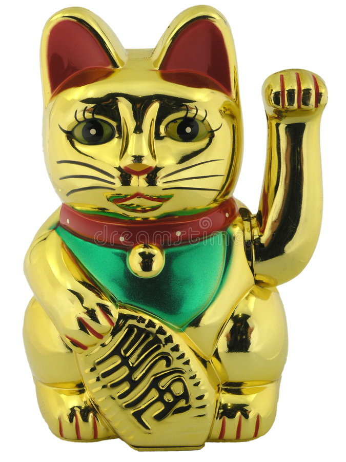 Free Cat Lucky Figure Royalty Free Stock Photo - 633475