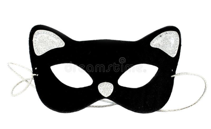 Cat mask royalty free stock photos