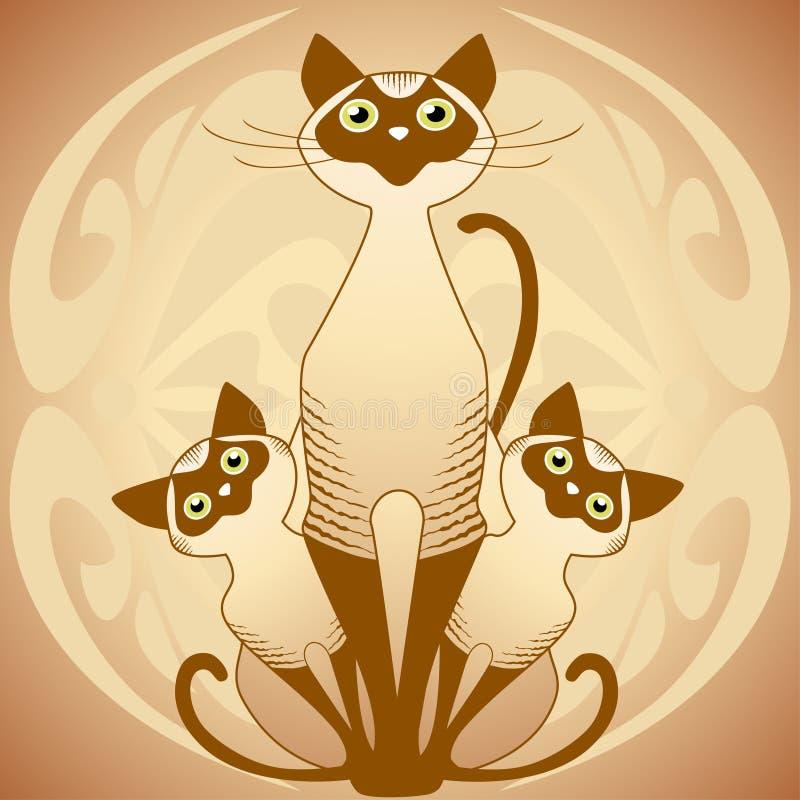 Free Cat S Family Stock Image - 10921681