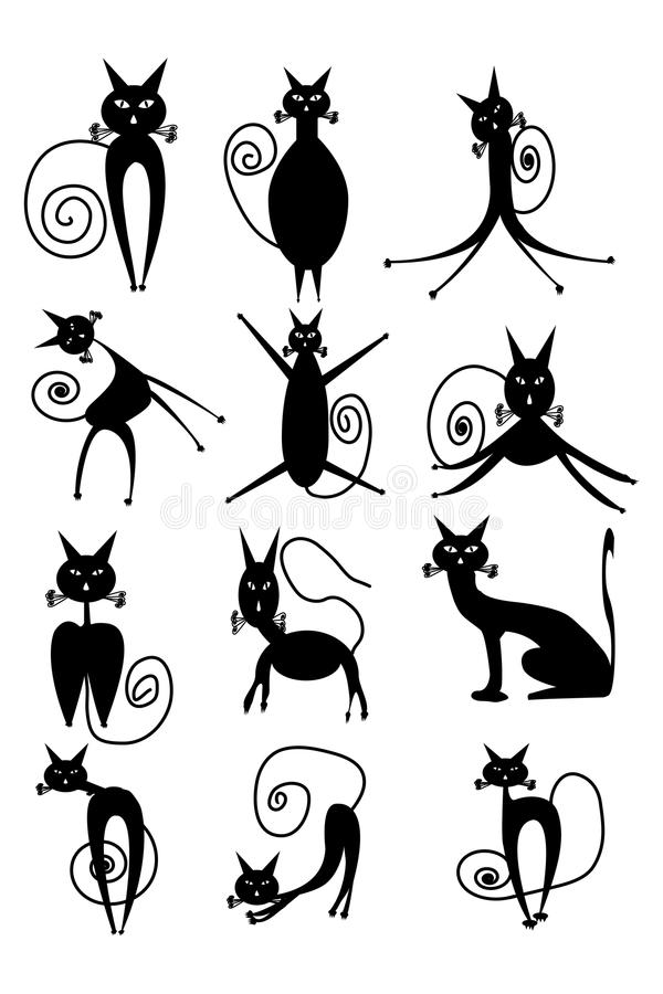 Cat Silhouette vector illustratie