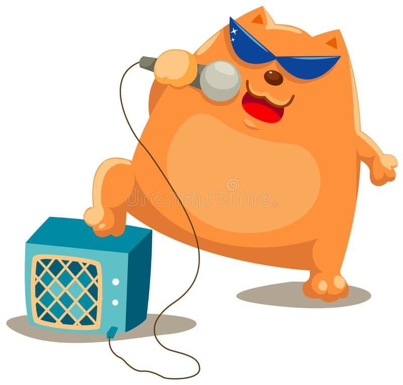 Free Cat Singer Stock Photos - 15858553