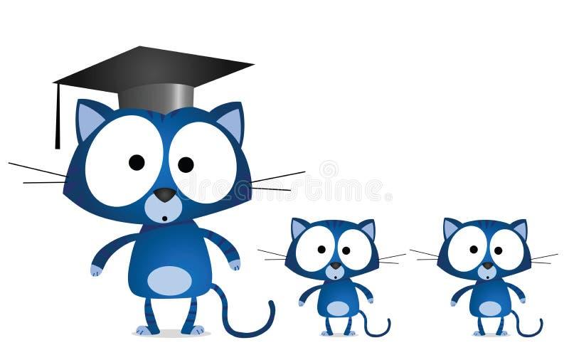 Download Cat teacher stock vector. Image of learn, instruct, feline - 19914227