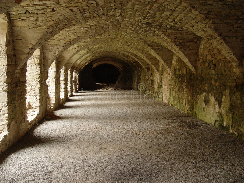 catacomb royaltyfria bilder