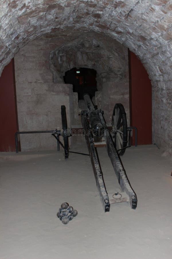 Catacombe a Saarbruecken immagine stock