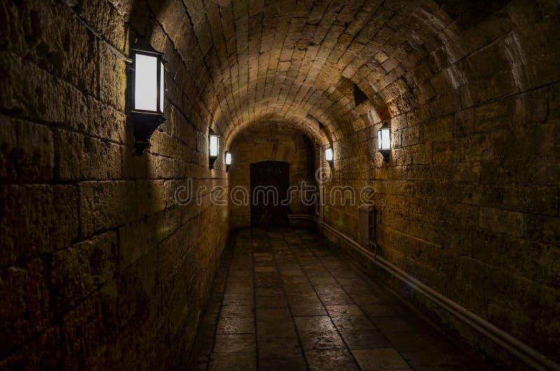 catacombs royaltyfri fotografi