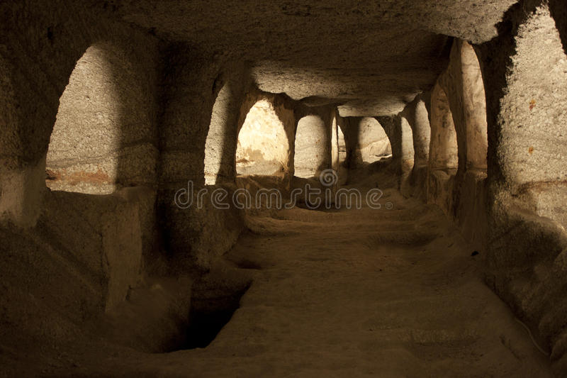 catacombs arkivfoton