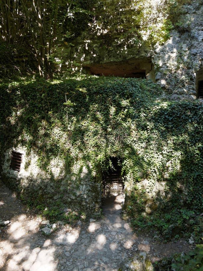 catacombs foto de stock