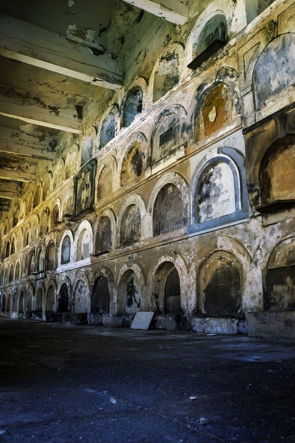 Catacombs stock image