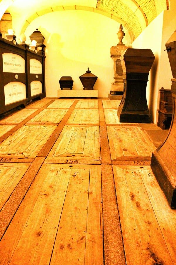 Free Catacombs Under Saint Francis Church In Porto Royalty Free Stock Photos - 170246238