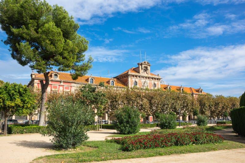 Catalaans Parlementsgebouw royalty-vrije stock afbeeldingen
