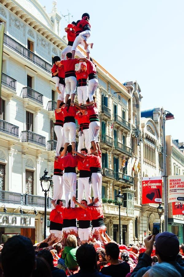 Catalaans toon stock foto