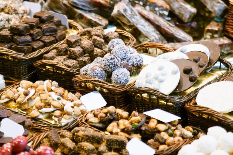 Download Catalan Chokalate On Vendor Stock Photo - Image of cake, counter: 32140808