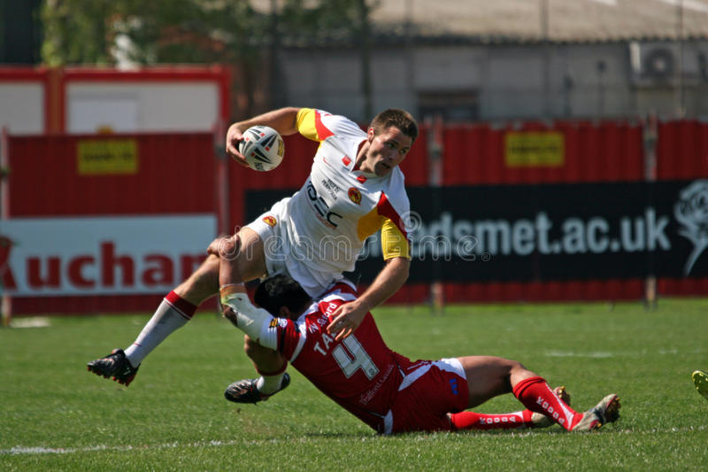 Download Catalans Dragons Vs Salford City Reds Editorial Photography - Image: 13919447