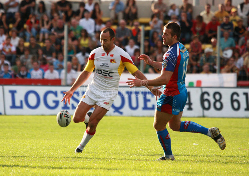 Download Catalans Dragons Vs Wakefield Wildcats Editorial Stock Image - Image: 10810954