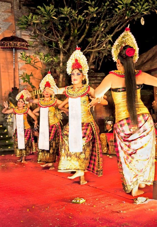 Catalessi di Legong & ballo di paradiso, Bali, Indonesia fotografia stock libera da diritti