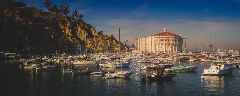 Catalina Casino Panorama photos stock