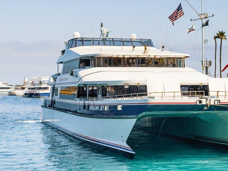 Catalina Express, Long Beach, CA images stock