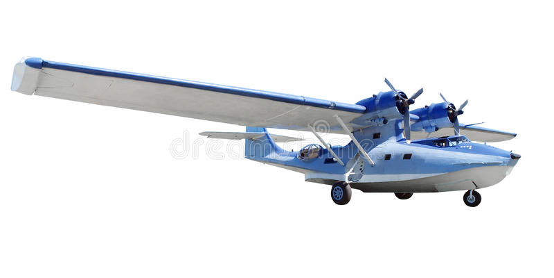 Catalina Flying Boat royalty-vrije stock foto