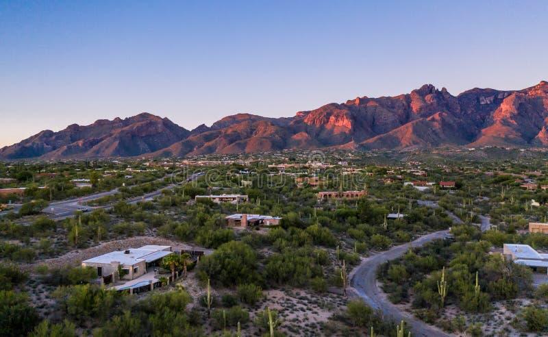 Catalina góry lokalizować w Tucson, Arizona fotografia royalty free