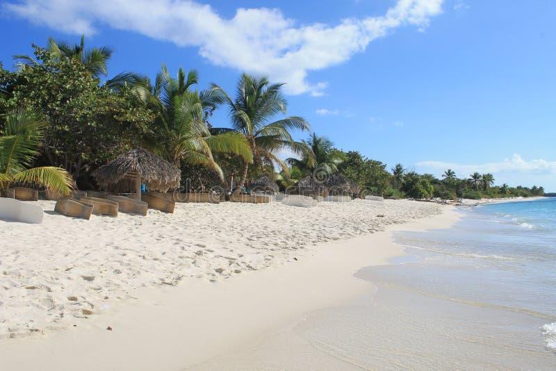 Catalina-Insel, Dominikanische Republik lizenzfreies stockbild