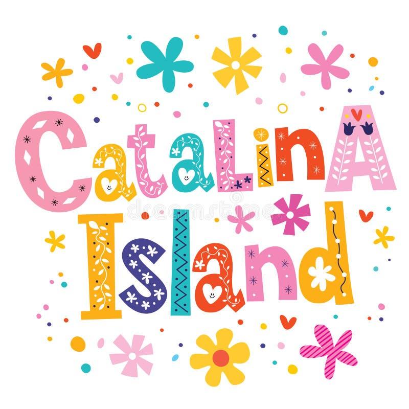 Catalina Island ilustração stock