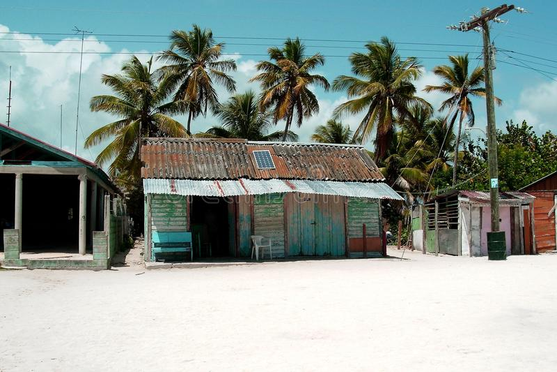 Catalina Santo Domingo: Haus der Leute lizenzfreie stockbilder