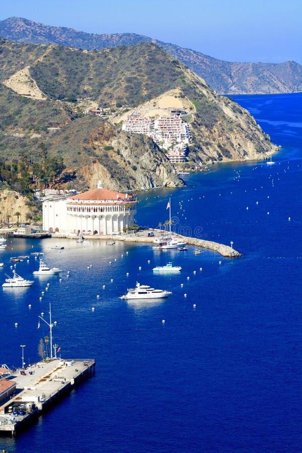 Catalina wyspy linia brzegowa obrazy royalty free