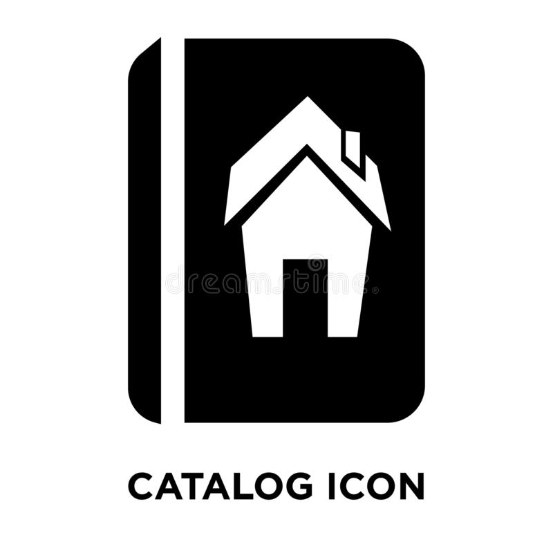 Catalog icon vector isolated on white background, logo concept o vector illustration