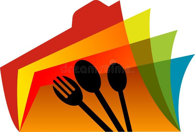 Catalogo dell'alimento illustrazione vettoriale