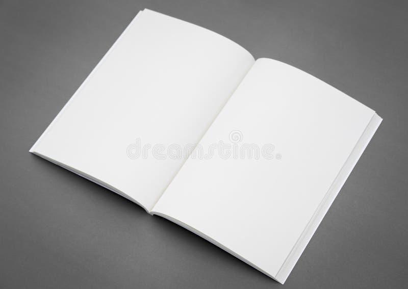 Catalogue vide, brochure, magazines photographie stock libre de droits