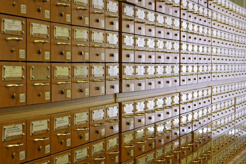 Catalogus cells2 royalty-vrije stock fotografie