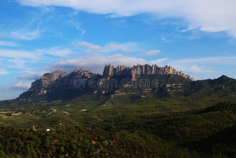 Catalonia, Spanien natur och landskap Europa lopp wanderlust arkivbilder