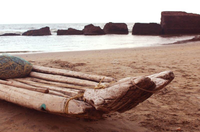 Catamarã indiano fotografia de stock royalty free