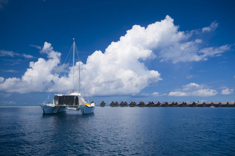 catamaran photo libre de droits