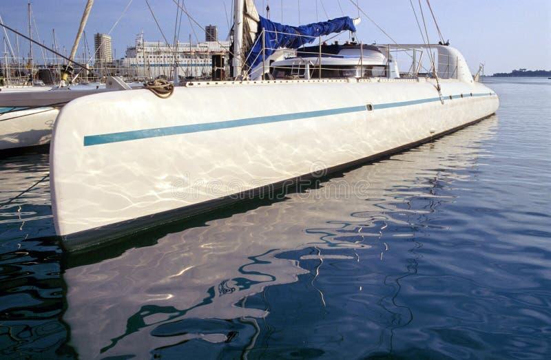 Catamaran stock foto